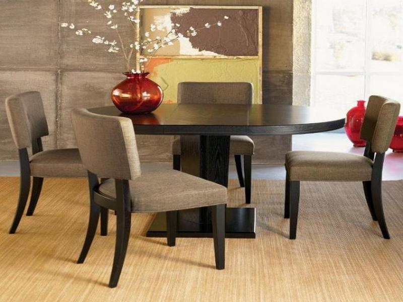 Elegant Round Contemporary Dining Room Sets contemporary round dining room sets