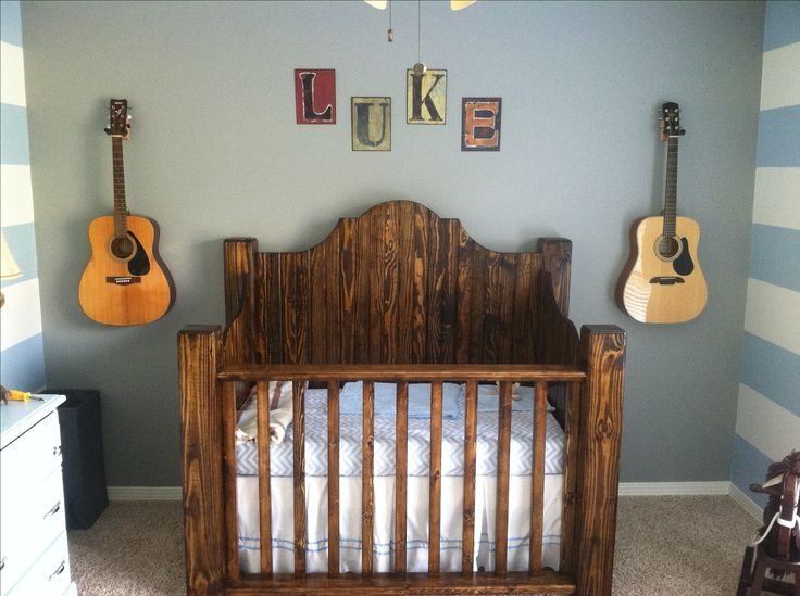 Elegant Rustic crib. Would be great to use as headboards for twin beds when rustic baby cribs