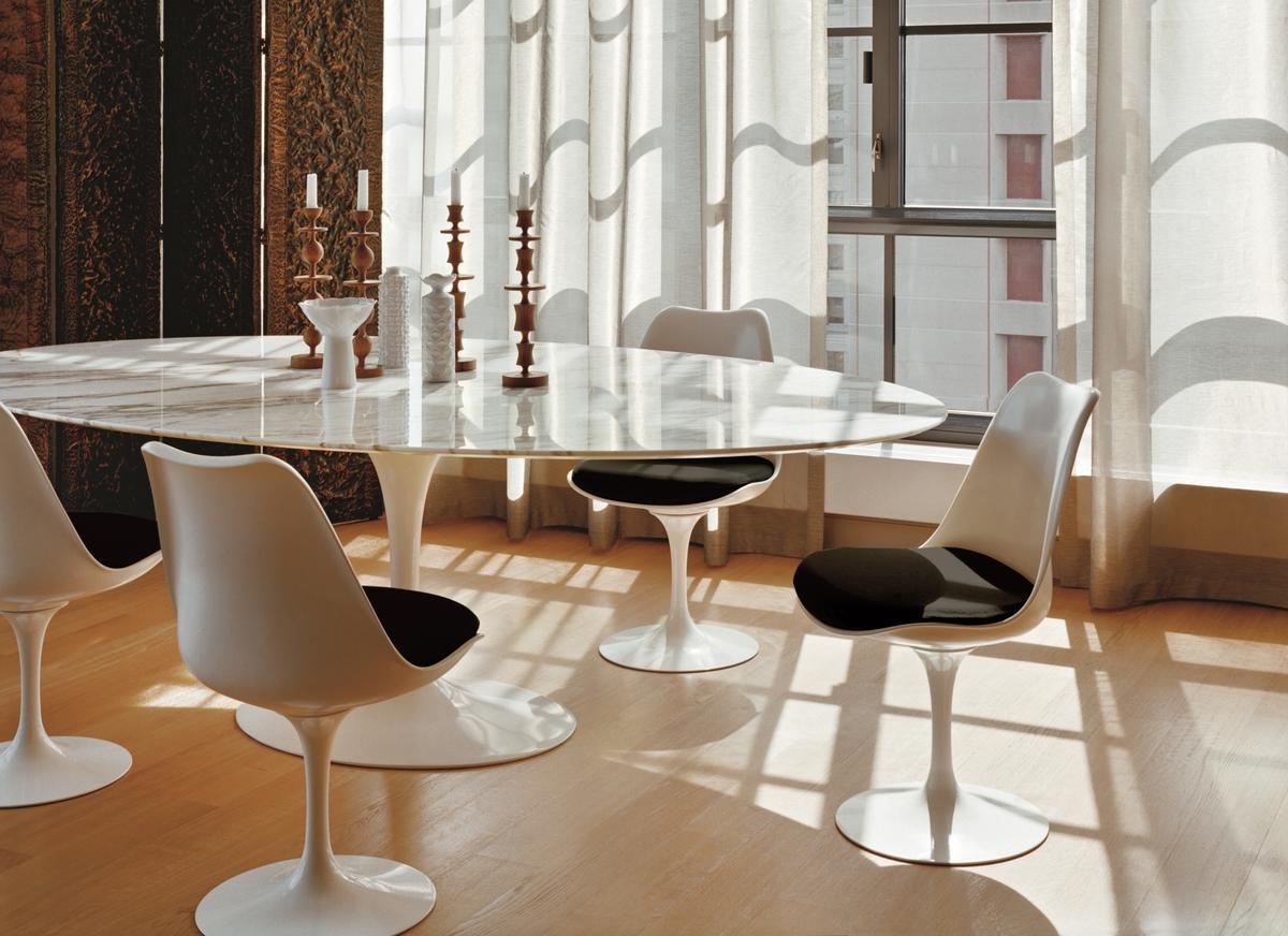 Elegant Saarinen Tulip Chair tulip dining chair