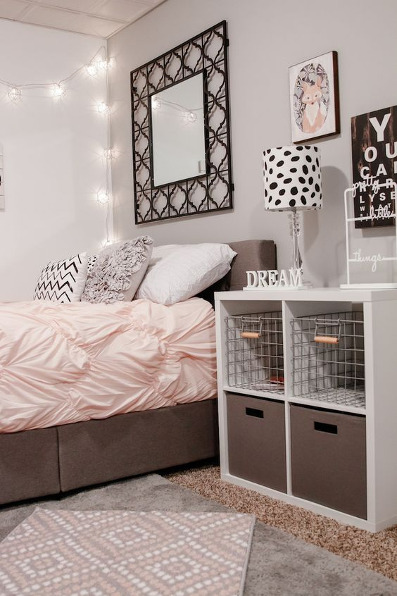 Teenage girl bedroom ideas :create a heaven for a princess