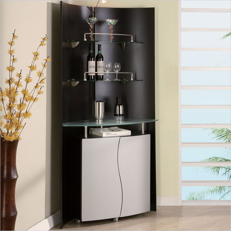 Elegant Turn any corner into a modern home bar with the Global Furniture corner bar furniture for the home