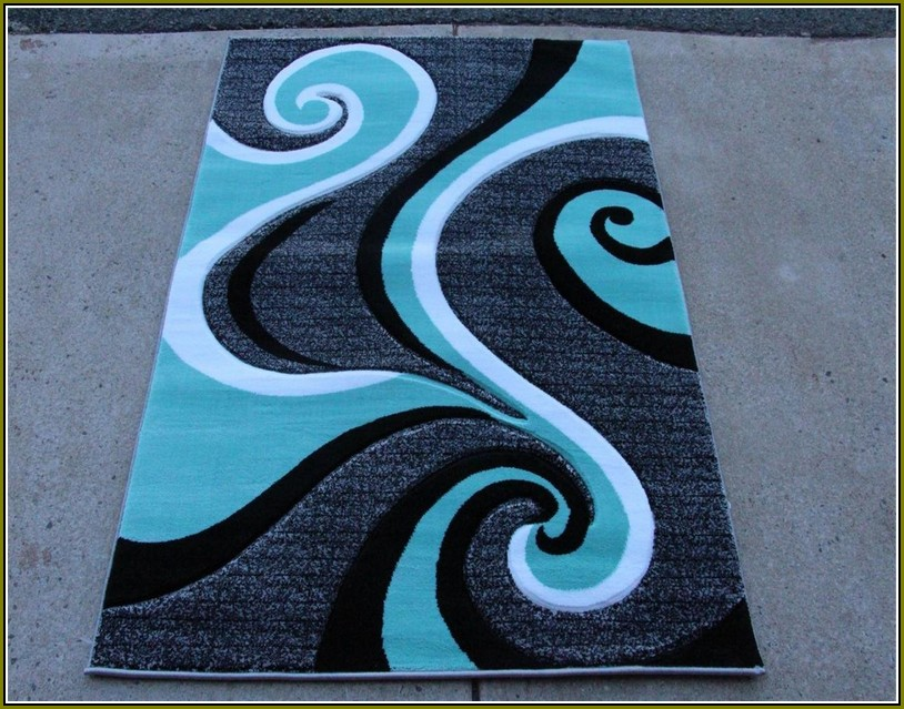 Elegant Turquoise And Grey Area Rugs turquoise blue area rugs