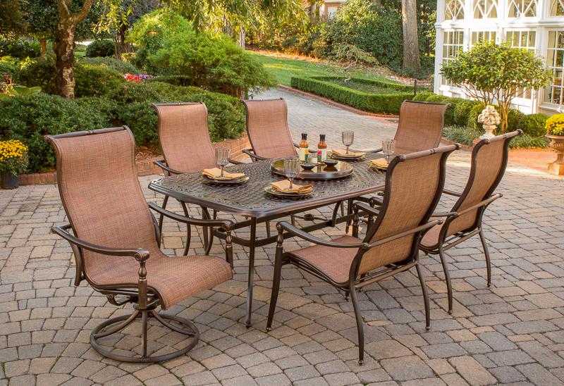 Elegant Willowbrook agio burgundy patio furniture
