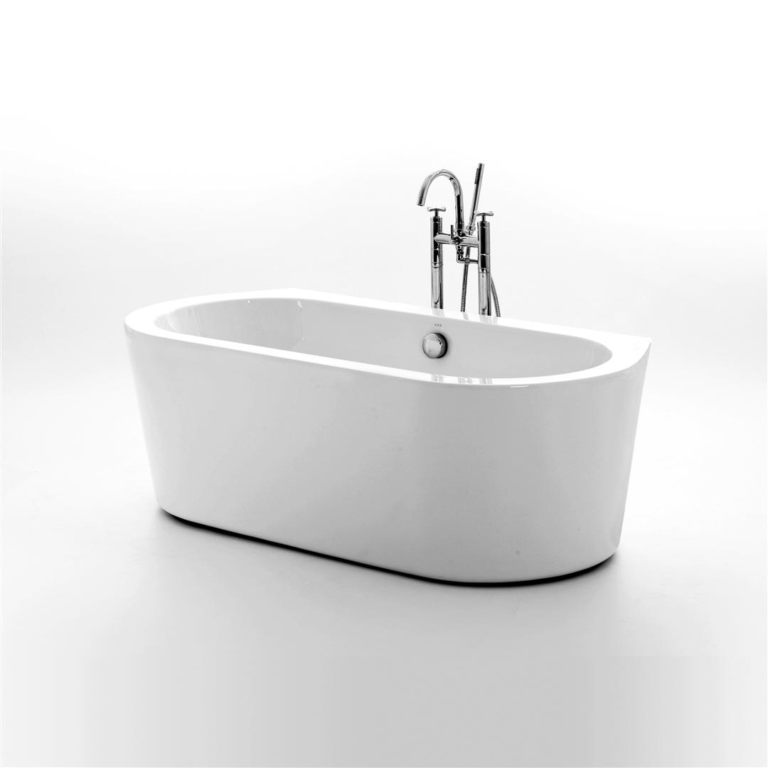 Elegant Woburn Freestanding Double Ended Bath 1490mm small double ended baths