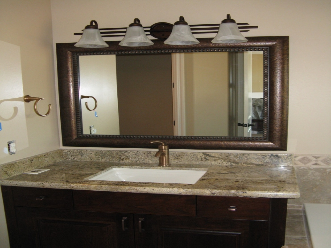 vanity wall mirrors for bathroom photos of size 1280x960 framed bathroom vanity 24482