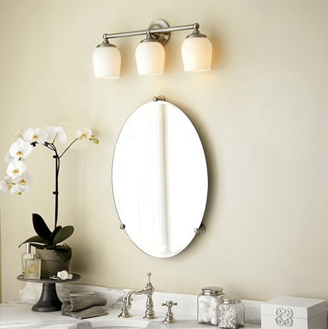 Chic oval bathroom mirrors oil rubbed bronze andoval bathroom mirrors with lights frameless oval bathroom mirrors