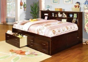 Cool A.M.B. Furniture u0026 Design :: Childrens Furniture :: full storage bed with bookcase headboard