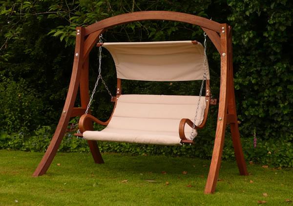 Cool Kingdom Arc Garden Swing Seat garden swing seat