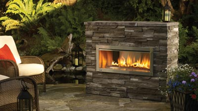 Warming Up the Backyard Patio by Outdoor fireplace ...