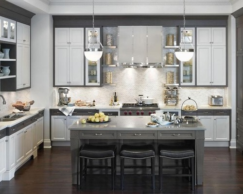 Images of Gray And White Kitchens Photos grey and white kitchen designs