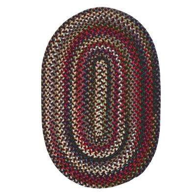 Ideas of Chestnut ... oval braided rugs