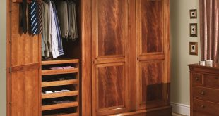Ideas of How to Make Hang Wardrobe of Wood Portable Closet - http://www. large wardrobe armoire