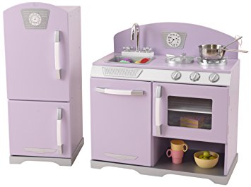 Ideas of KidKraft Lavender Retro Kitchen Refrigerator kidkraft retro kitchen