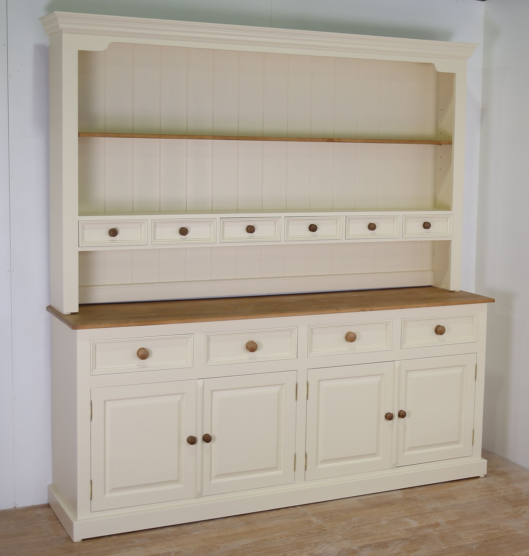 Ideas of ... MOTTISFONT SOLID PINE PAINTED LARGE 4 DOOR WELSH DRESSER IN 4 large welsh dresser