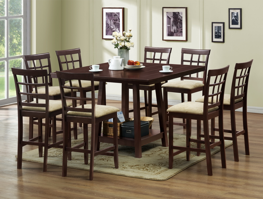 Ideas of Piece Counter Height Dining Set Features Set Includes Pub Table . pub dining table sets