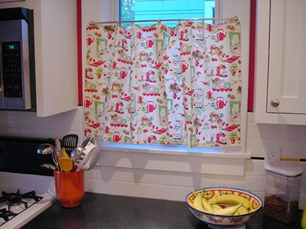 Ideas of retro kitchen curtains design home design ideas picture gallery regarding retro  kitchen retro kitchen curtains