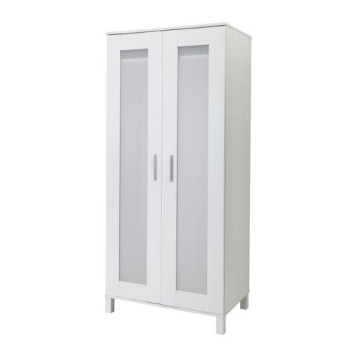 Chic ANEBODA Wardrobe IKEA Adjustable hinges ensure that the doors hang straight. ikea aneboda wardrobe armoire white
