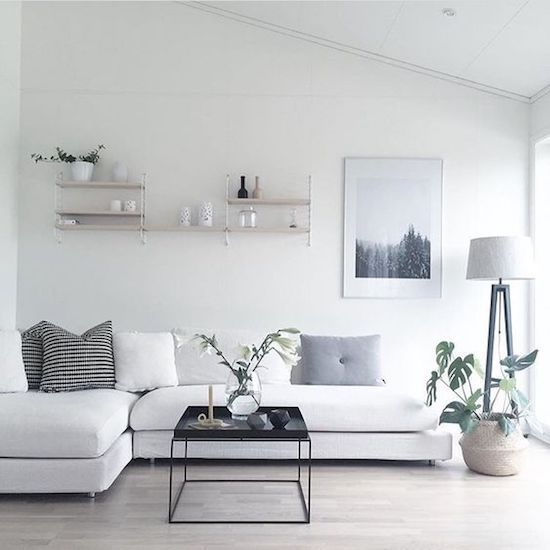 Images of 10 Minimalist Living Rooms to Make You Swoon simple living room designs