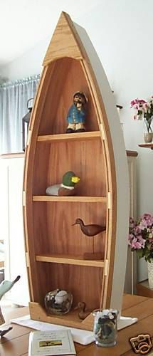 Images of 4 foot unfinished row boat shelf bookcase bookshelf by spinad1, boat shelf bookcase