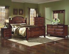 Images of Antique Design Eastern King Size Bed Bedroom Furniture 1pc Traditional Look antique bedroom furniture