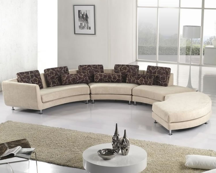 Cool and colorful sofas for your living room
