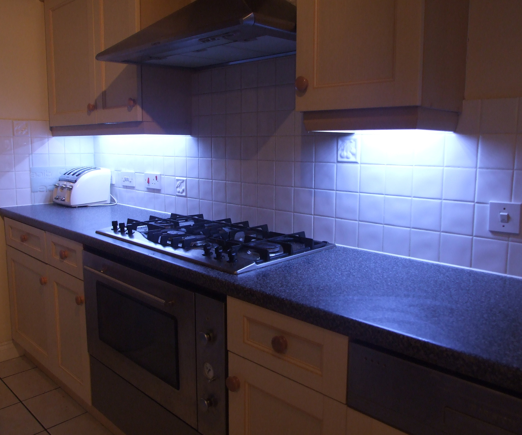 Images of How to Fit LED Kitchen Lights With Fade Effect: 7 Steps (with led kitchen lighting