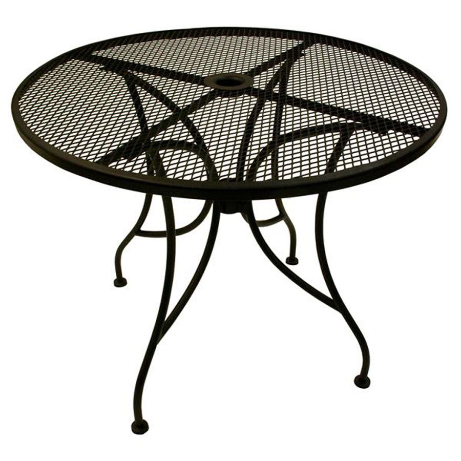 Images of Image of: Black Round Metal Patio Coffee Table metal patio table