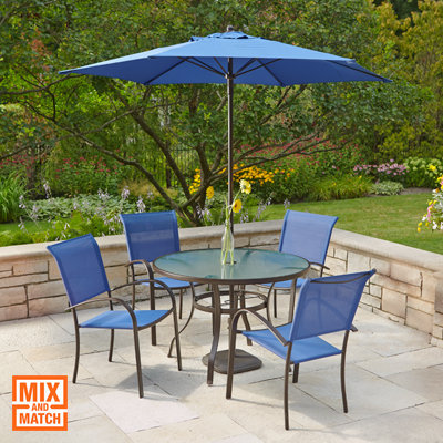 Images of Patio Mix u0026 Match metal outdoor patio furniture