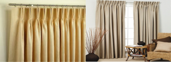 Images of Pinch Pleated Drapes and Custom Made Curtains from Shade Creation Window custom pinch pleat drapes