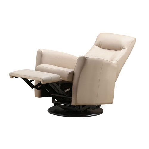 Images of Rupert Khaki Leather Swivel Reclining Chair Emerald Home Furnishings Recliners  Chairs swivel recliner chairs
