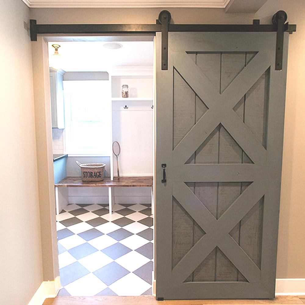 Contemporary 5/6/6.6/7.5/8/8.2FT 1500-2500mm diy interior sliding wood doors