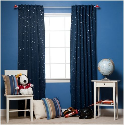 Best Boys Curtains | Curtains for a boys room design / Designs Ideas and kids bedroom curtains