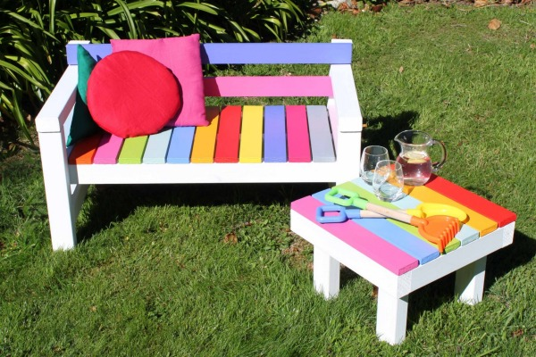Give Your Kids A Personal E With Cute Garden Furniture