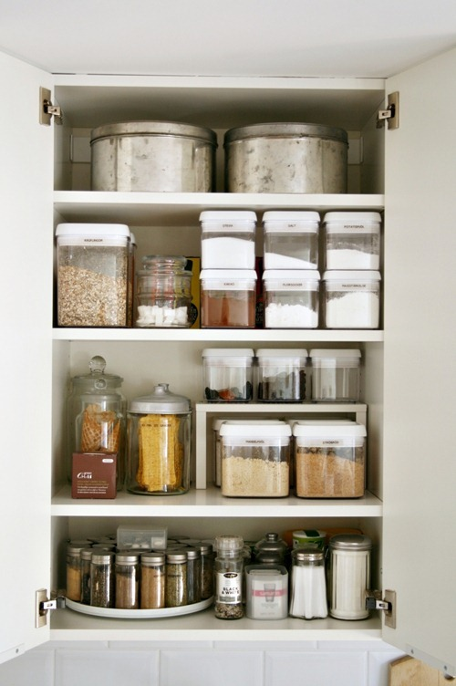 Beautiful Organizing Kitchen Cabinets - Storage Tips for Cabinets kitchen cabinet shelving ideas