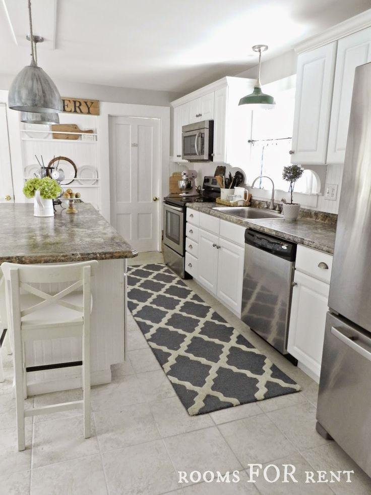 Amazing New Runner in the Kitchen kitchen runner rugs