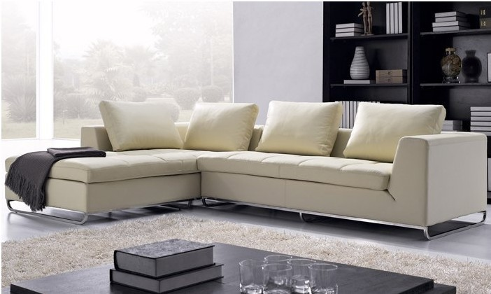 Modern Free Shipping Arabic living room sofas Top Grain leather L Shaped Corner l shape sofa set models