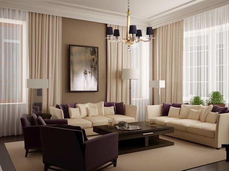 Stunning 18 Modern Living Room Curtains Design Ideas living room curtain ideas modern