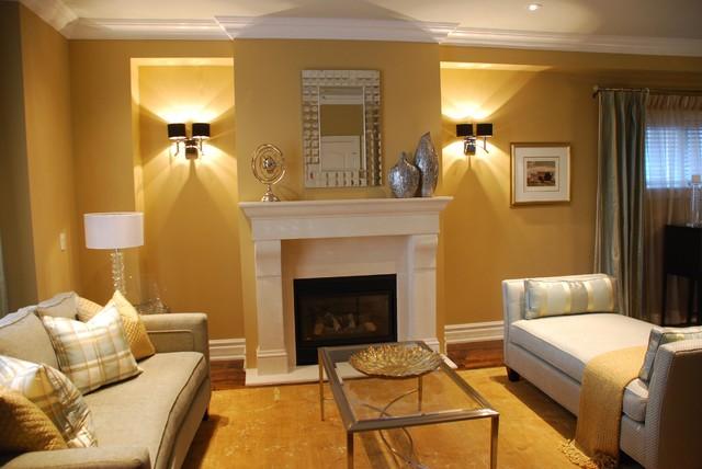 Amazing Contemporary Living Room by Chic Decor u0026 Design, Margarida Oliveira living room wall lights