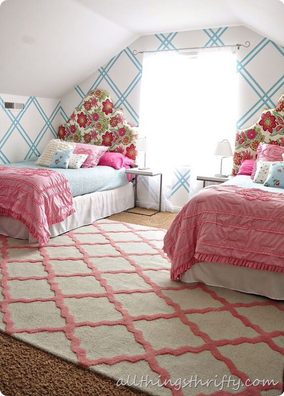 Luxury 17 Best images about Girl s room design ideas on Pinterest Loft beds girls bedroom rugs