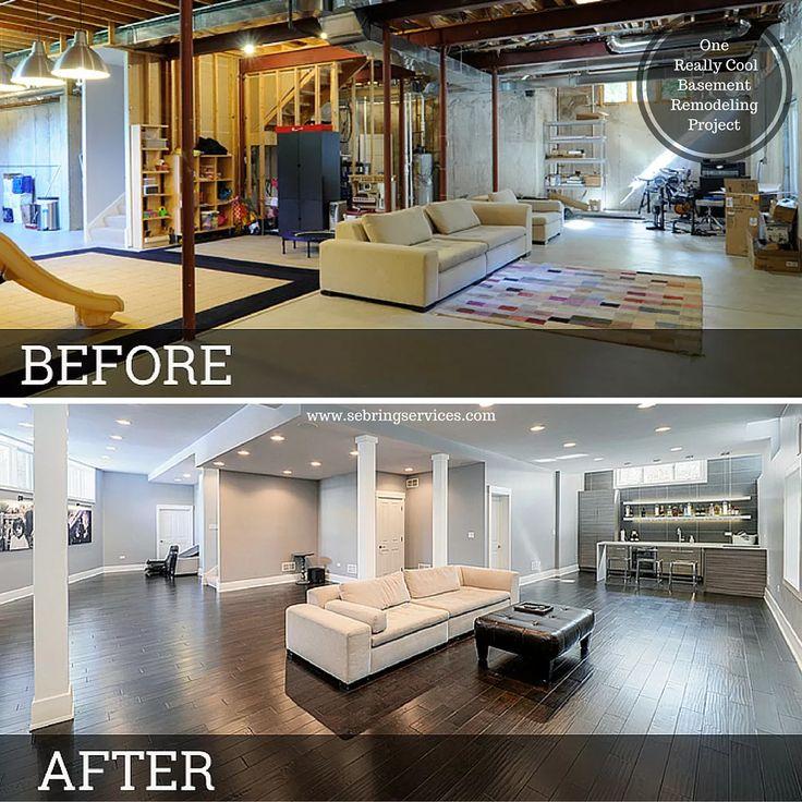 Luxury 25+ best Cool Basement Ideas on Pinterest | Basement remodeling, Sleepover basement remodeling ideas