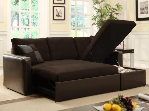 Luxury Adjustable Sectional Sofa Bed with Storage Chase From FurnitureMaxx Price:  $499.99 http:// sectional sofa bed with storage