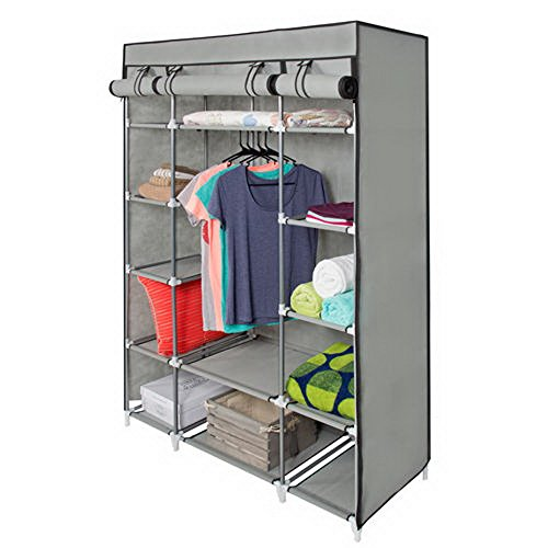 Luxury Amazon.com: Best Choice Products 53 portable wardrobe closet