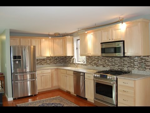 Luxury Cabinet Refacing | Cabinet Refacing Before And After - YouTube kitchen refacing before and after
