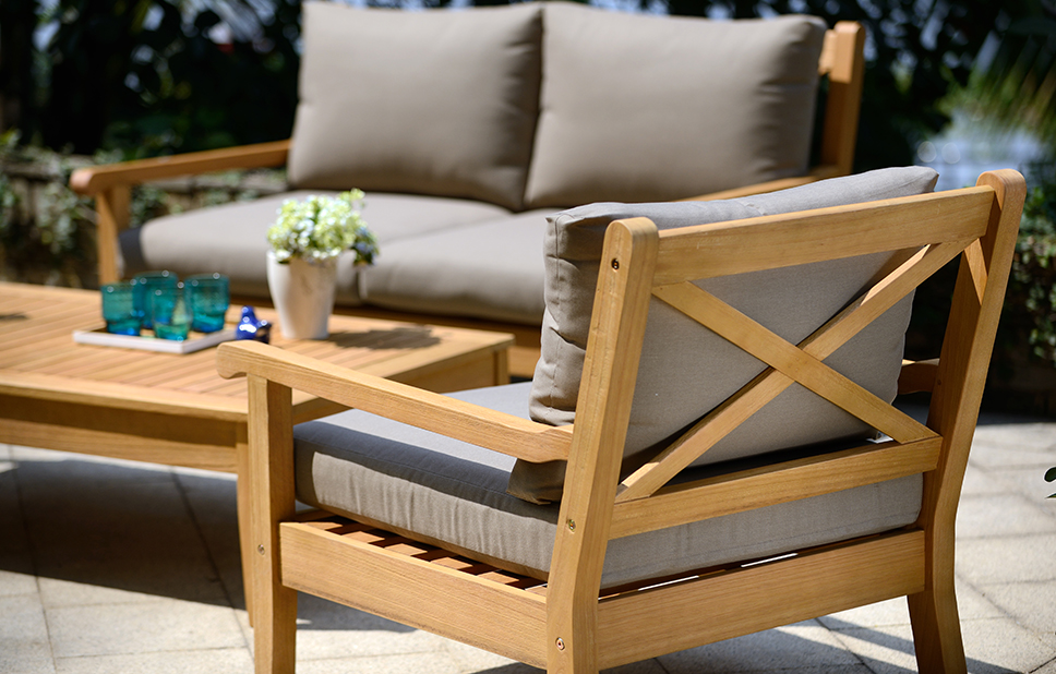 Luxury Maintaining wooden garden furniture wooden garden recliners