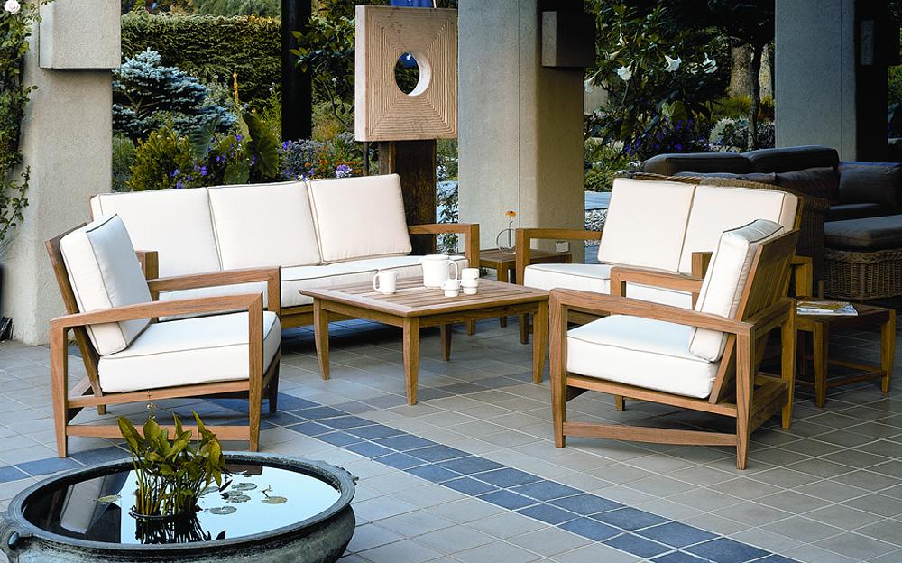 Luxury ... modern teak outdoor furniture ... modern teak outdoor furniture