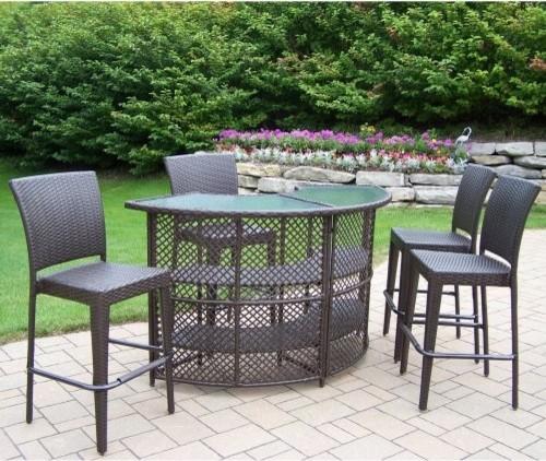Luxury Patio Furniture Cushions MacyS_02024024 ~ Round Patio Bar Set  contemporarypatiofurnitureandoutdoorfurniture outdoor patio bar sets
