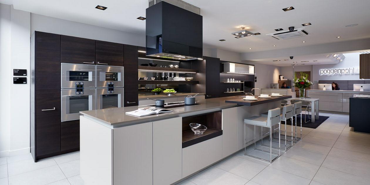 Luxury Poggenpohl Kitchen Studio - Sheen Kitchen Design - London studio kitchen designs