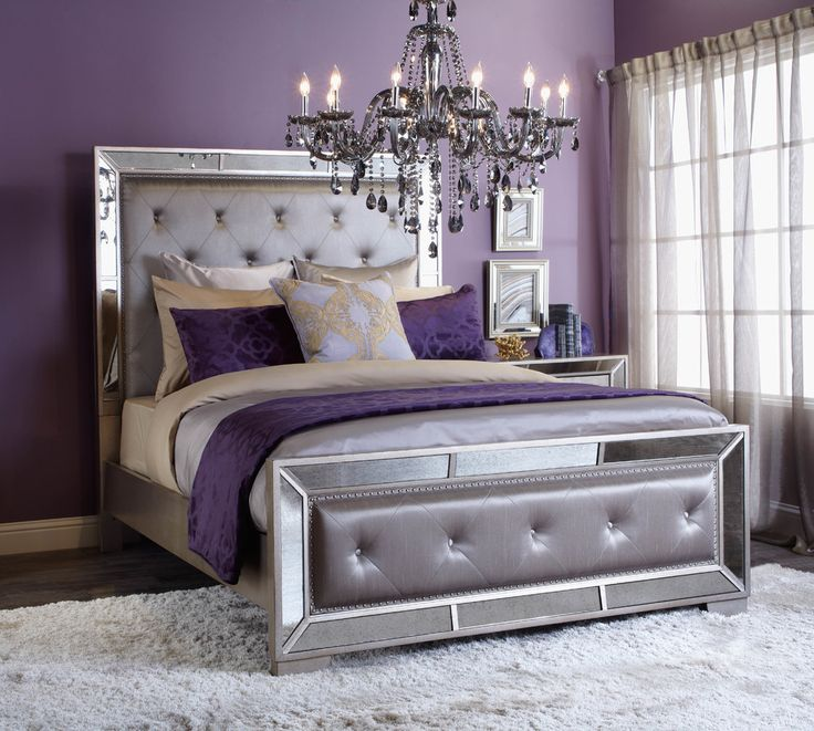 Luxury Purple and gray master, colours for bedroom purple bedroom decor ideas