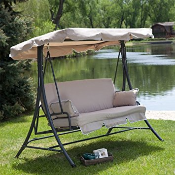 Luxury Replacement Swing Canopy - Medium Size patio swing canopy