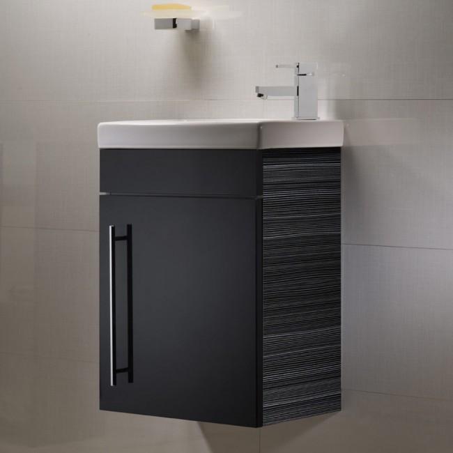 Luxury Roper Rhodes Esta Wall Mounted Cloakroom Vanity Unit cloakroom vanity unit